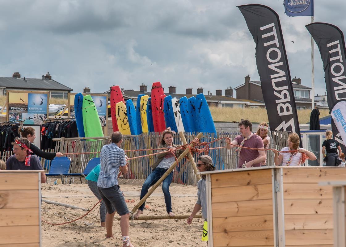 Leuke teambuilding activiteiten in Katwijk bij Activiteiten aan Zee