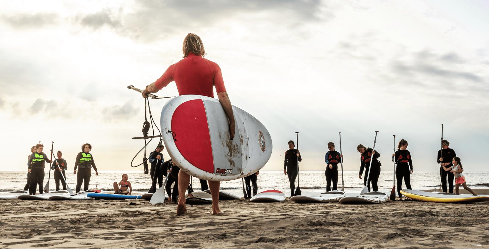 Wateractiviteiten, strandactiviteiten en groepsactiviteiten in Katwijk bij Activiteiten aan Zee