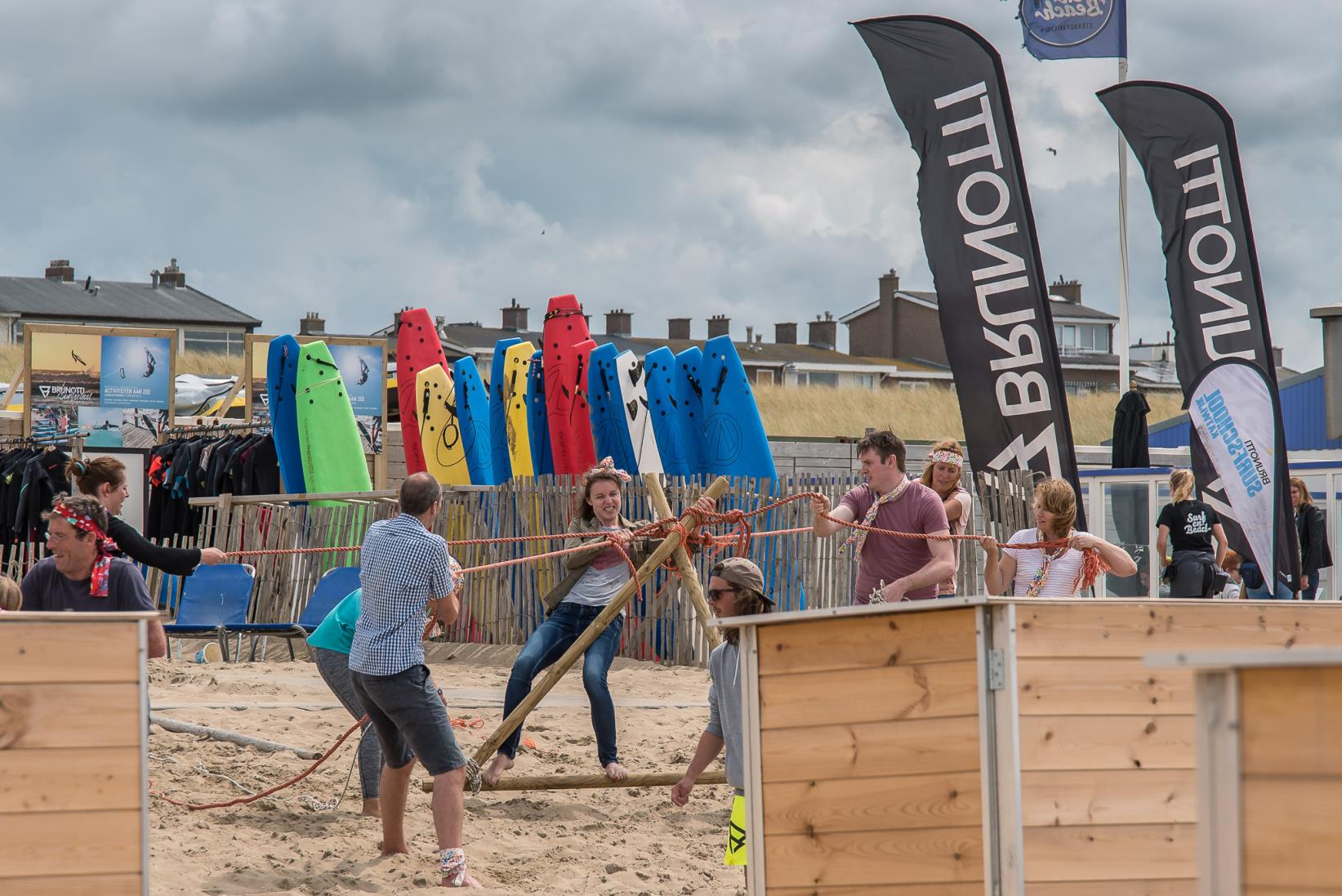 Strandactiviteiten in Katwijk bij Activiteiten aan Zee