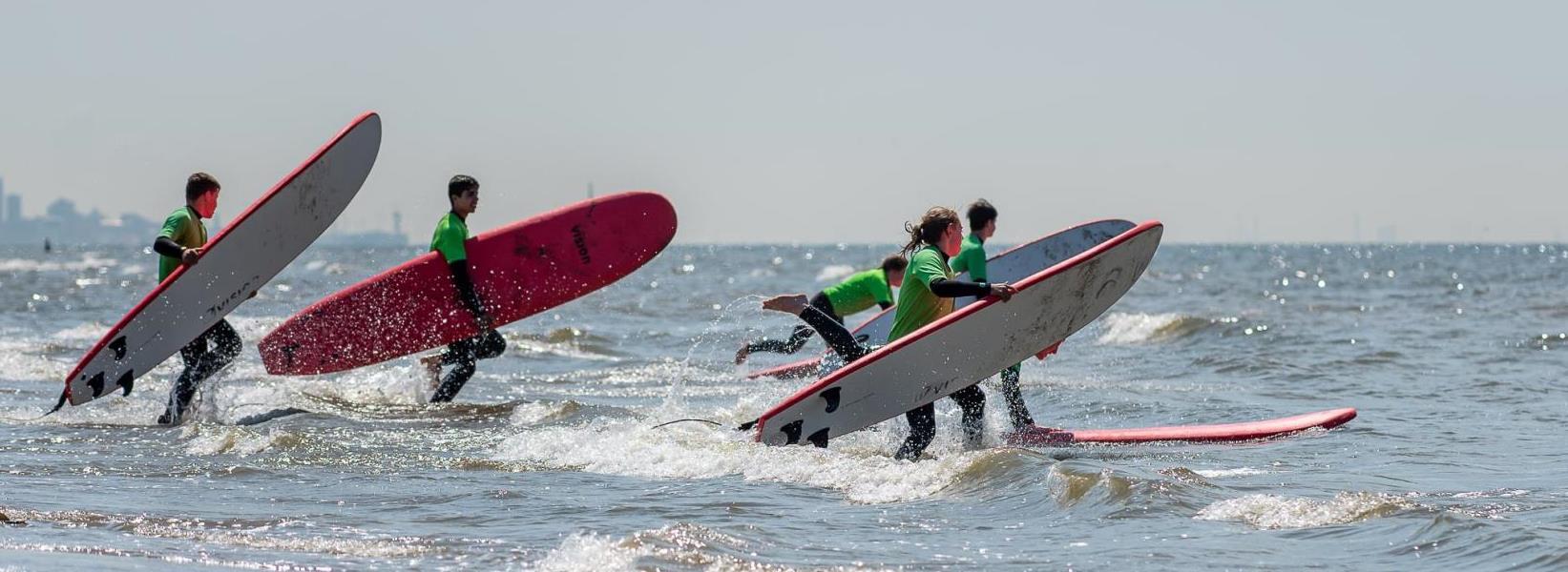 Wateractiviteiten in Katwijk bij Activiteiten aan Zee