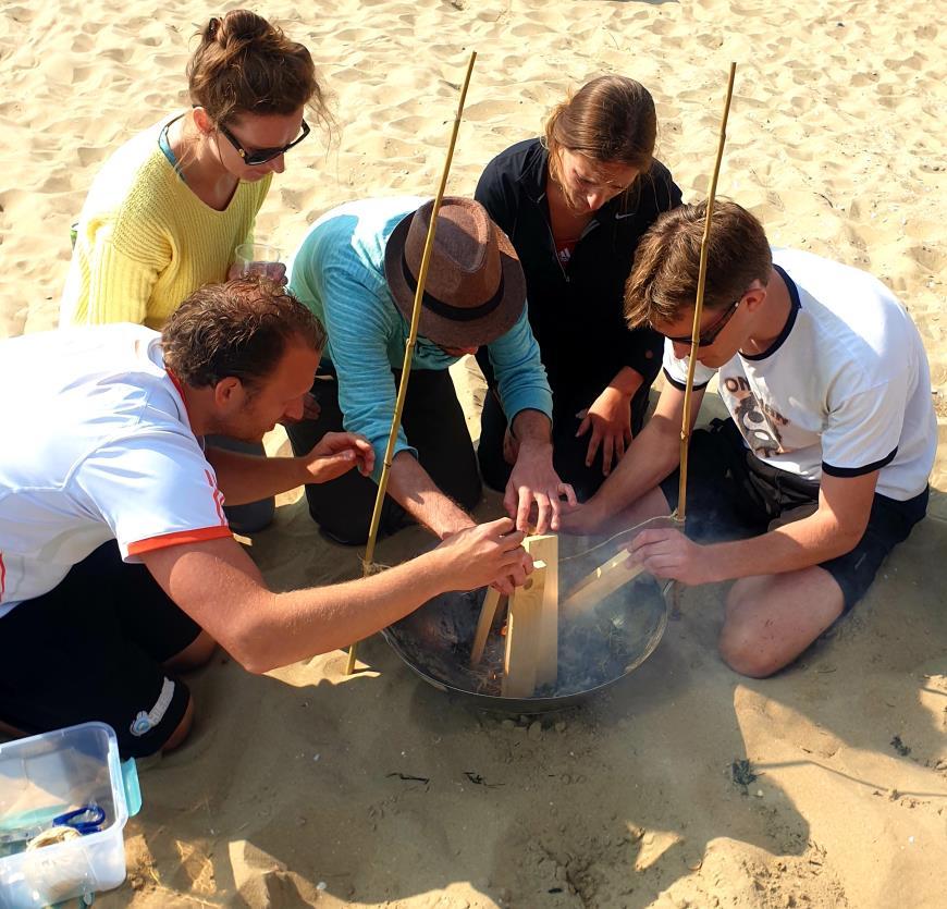 Expeditie Robinson in Katwijk bij Activiteiten aan Zee