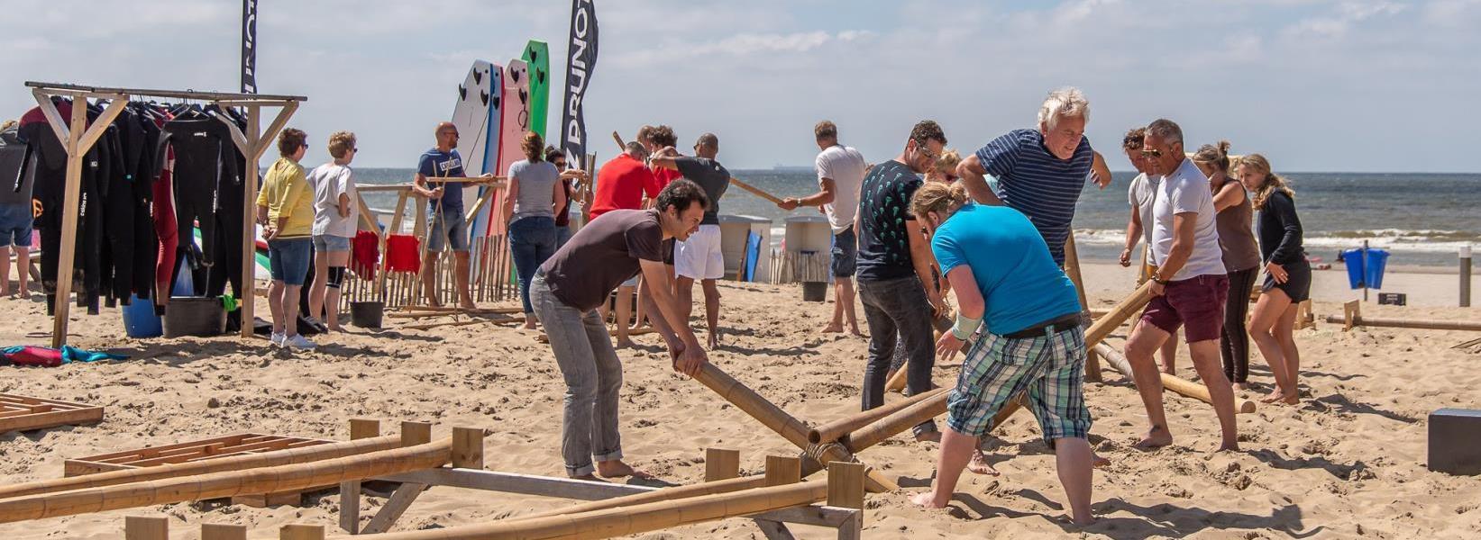 Teambuilding en groepsactiviteiten in Katwijk bij Activiteiten aan Zee